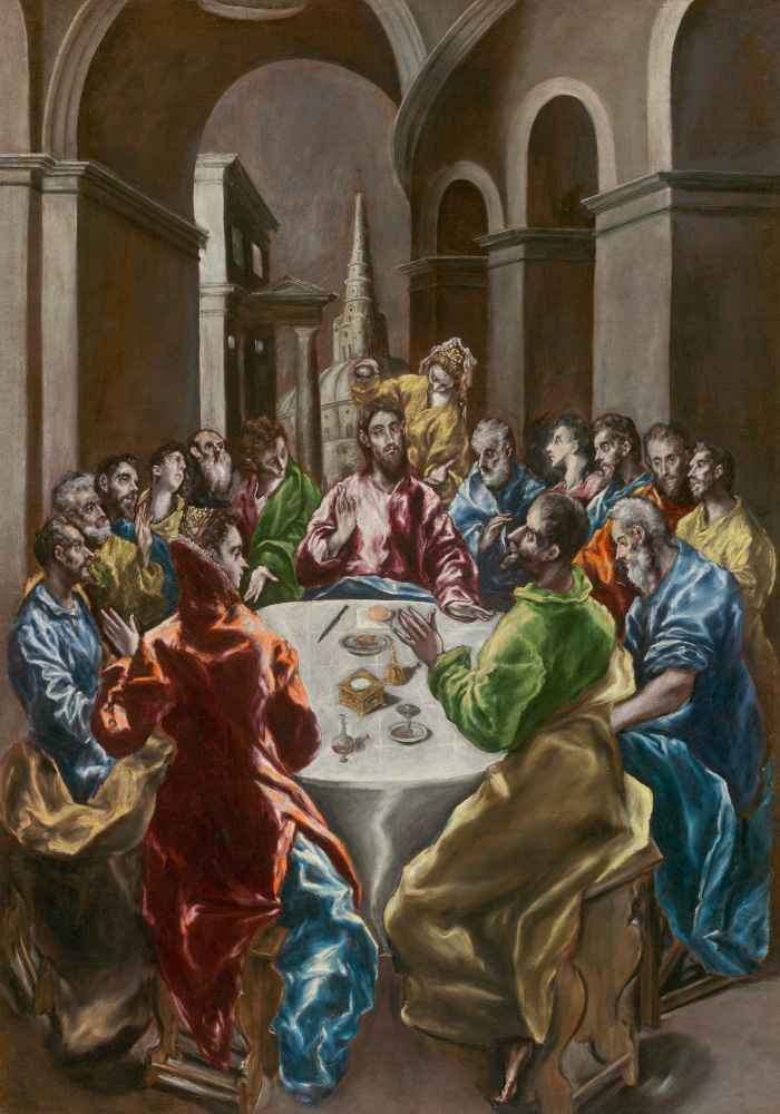 The Feast in the House of Simon - El Greco