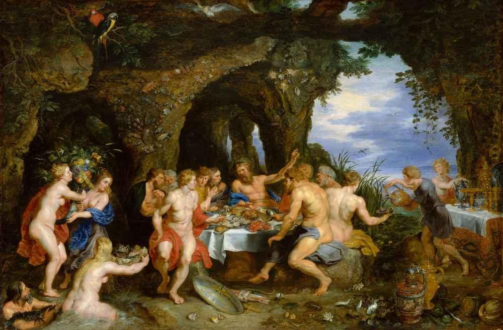 The Feast of Acheloüs - Peter Paul Rubens