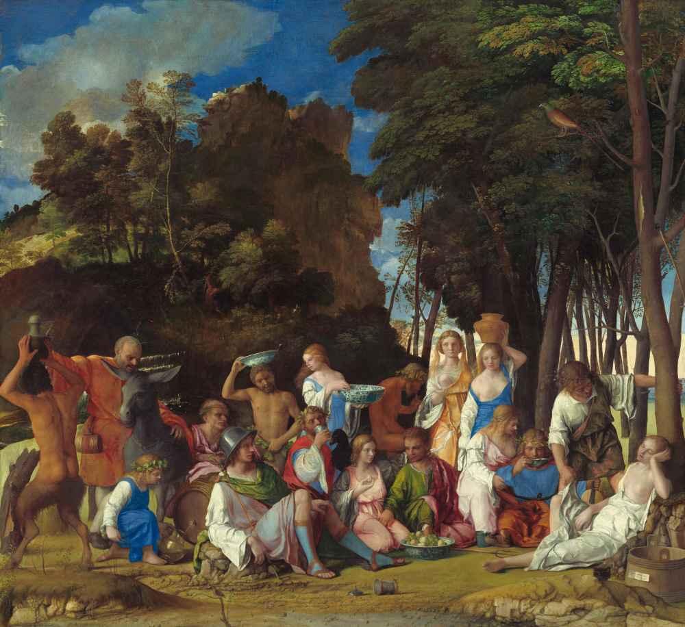 The Feast of the Gods - Tycjan