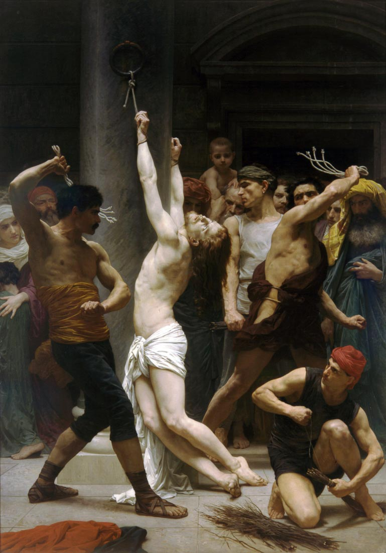 The Flagellation of Our Lord Jesus Christ - Bouguereau