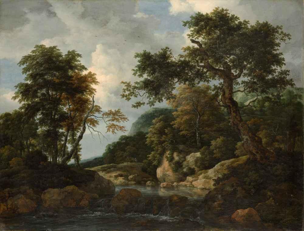 The Forest Stream - Jacob van Ruisdael