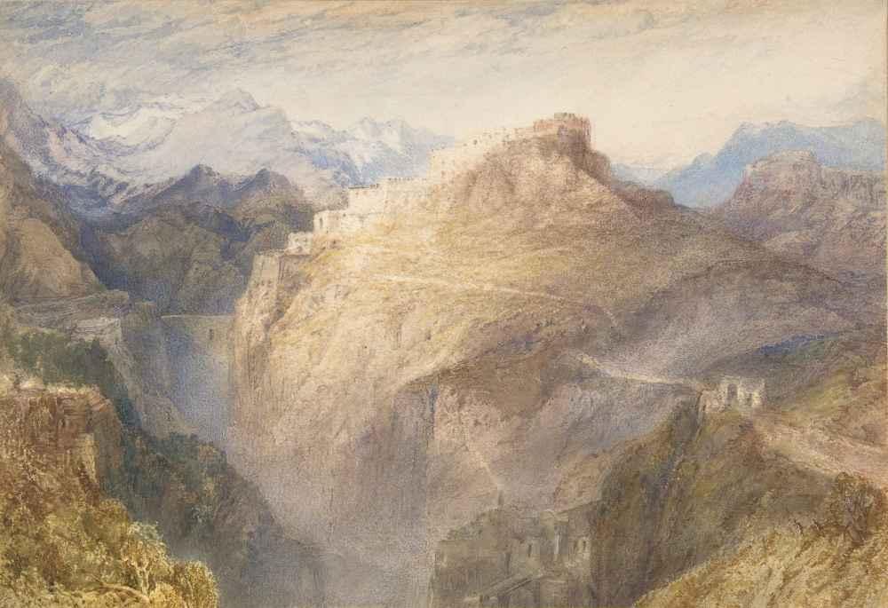 The Fort of LEsseillon, Val de la Maurienne, France - Joseph Mallord W
