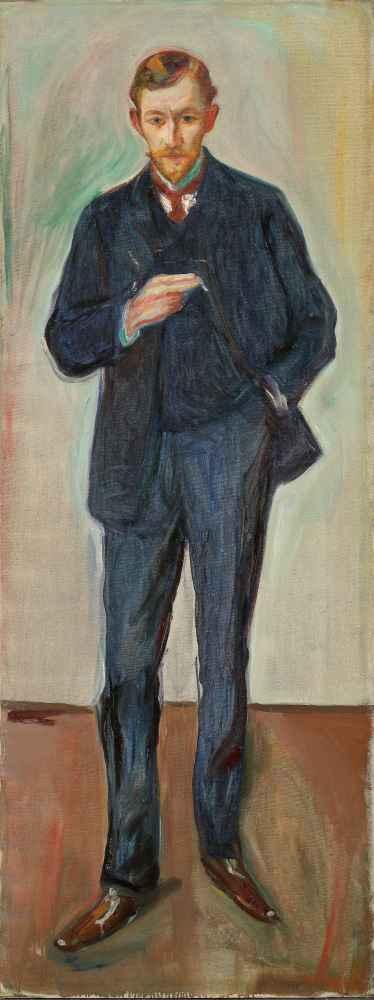 The Frenchman, Marcel Archinard - Edward Munch