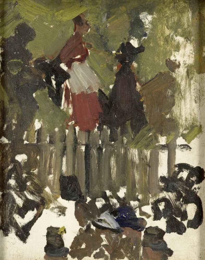 The Funfair - George Hendrik Breitner
