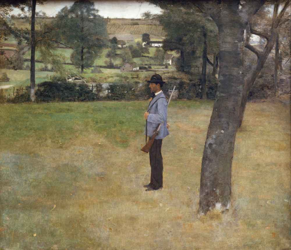 The Game Warden - Fernand Khnopff