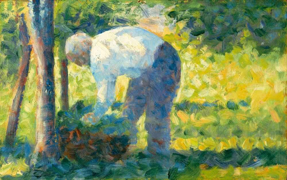 The Gardener - Georges Seurat