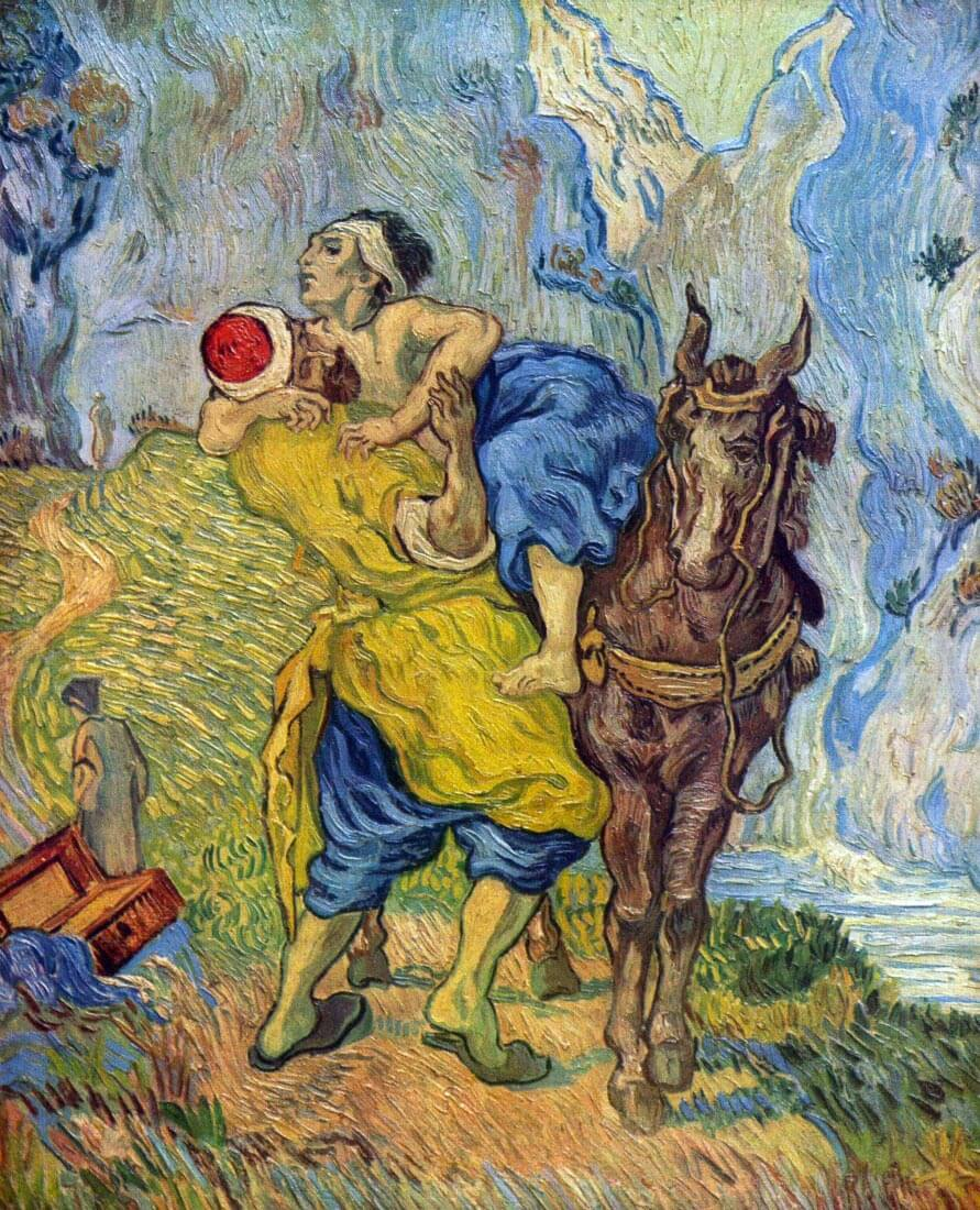 The Good Samaritan - Van Gogh