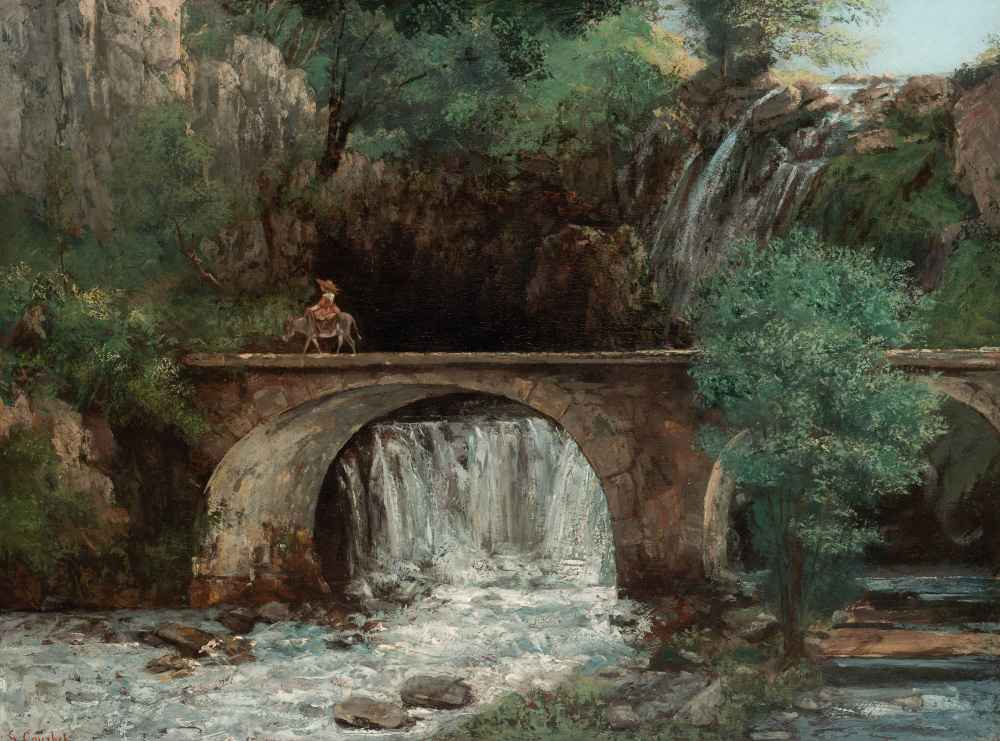 The Great Bridge - Gustave Courbet