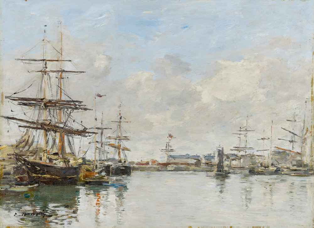 The Harbor of Le Havre - Eugene Boudin