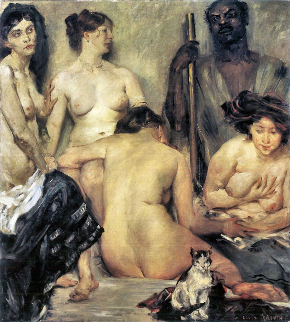 The Harem - Lovis Corinth