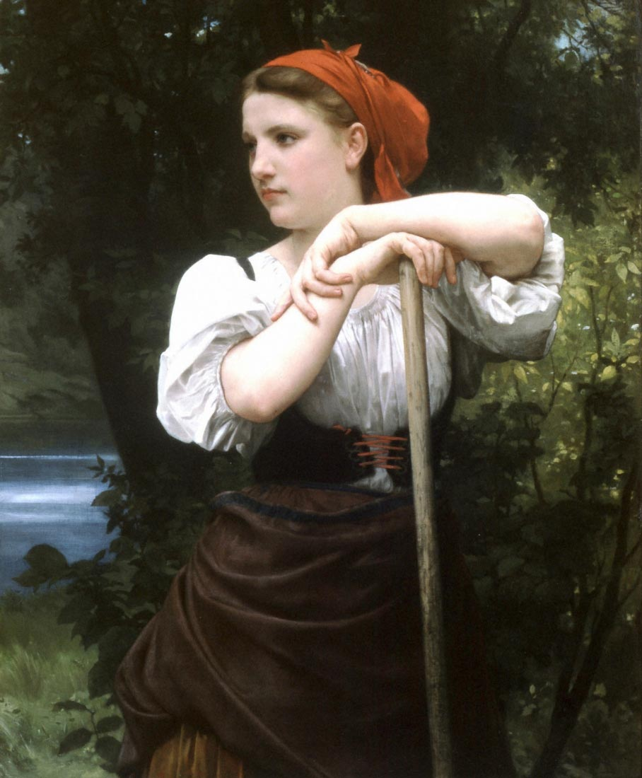 The Haymaker - Bouguereau