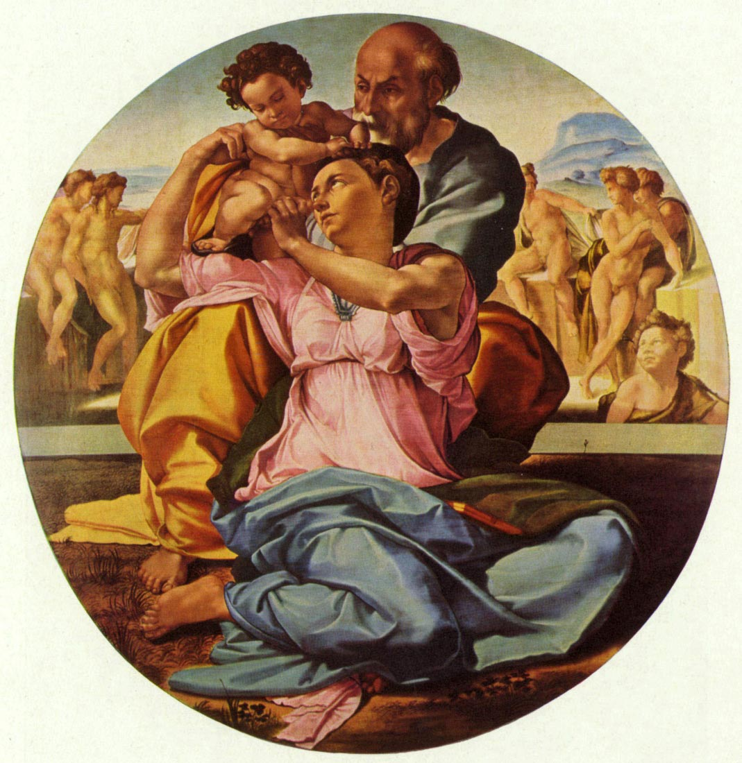The Holy Family - Michelangelo