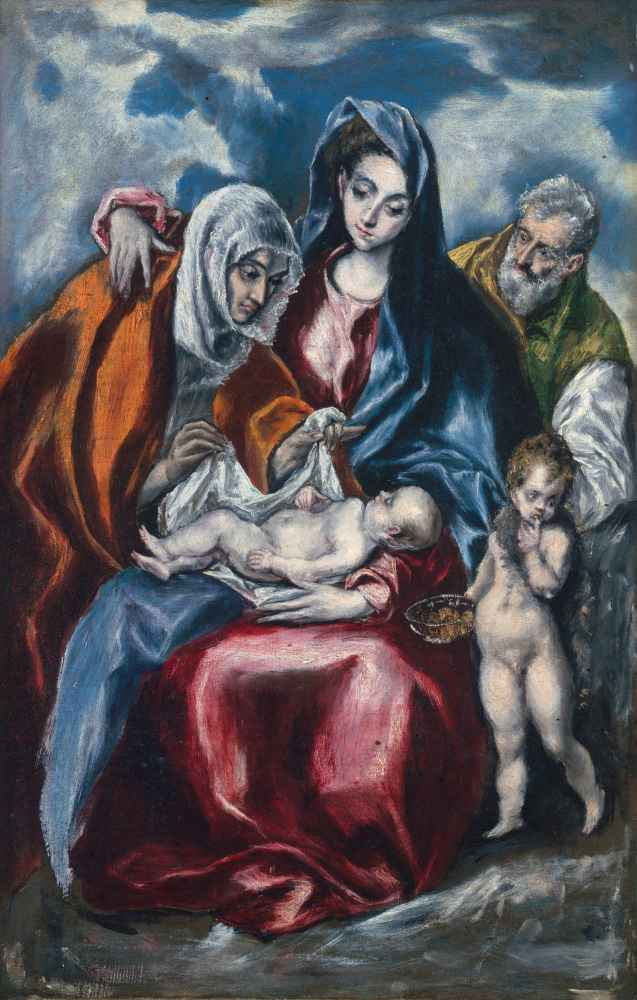 The Holy Family with Saint Anne and the Infant John the Baptist - El G