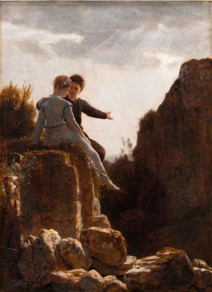 The Honeymoon - Arnold Bocklin