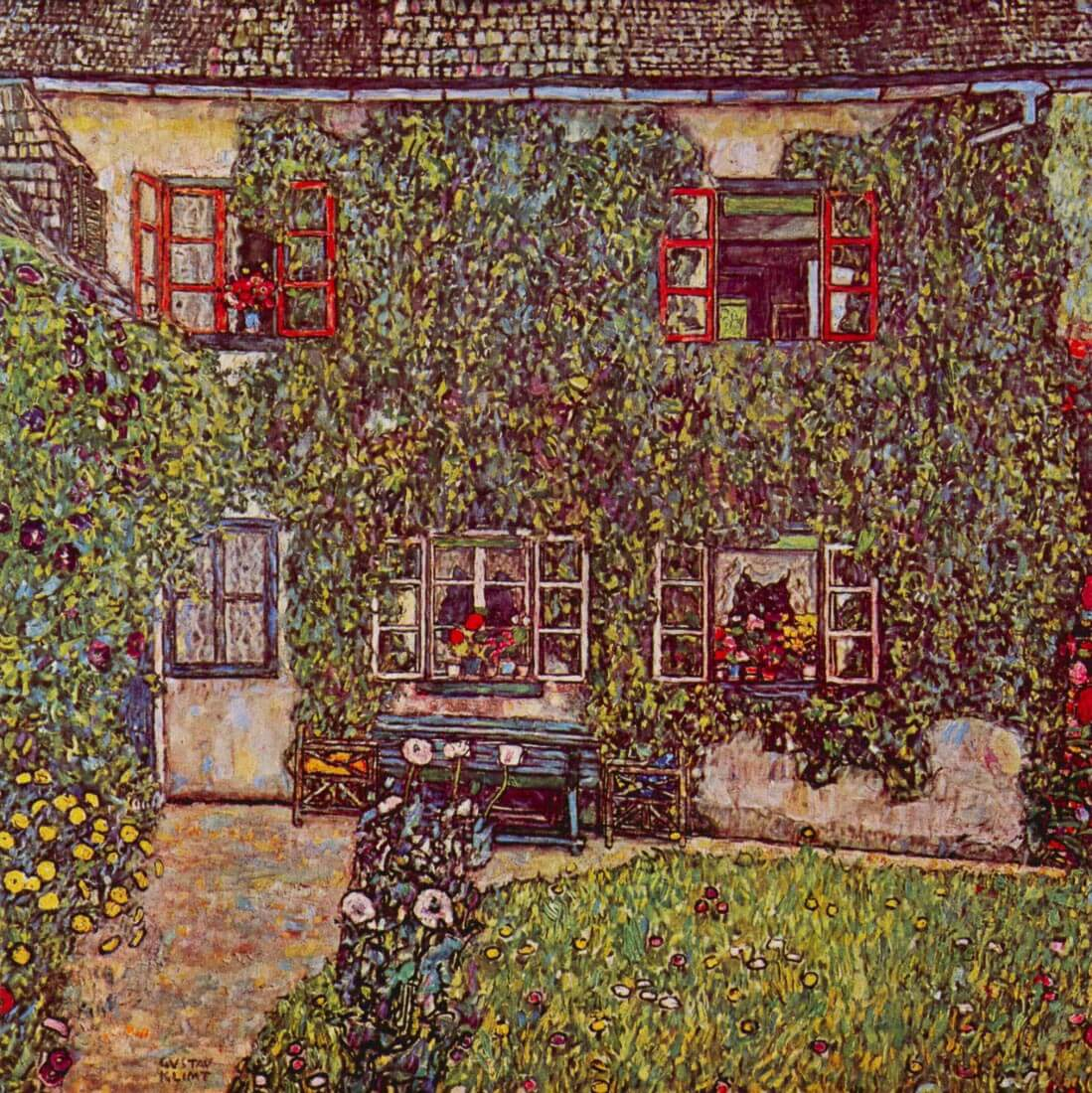 The House of Guard - Klimt