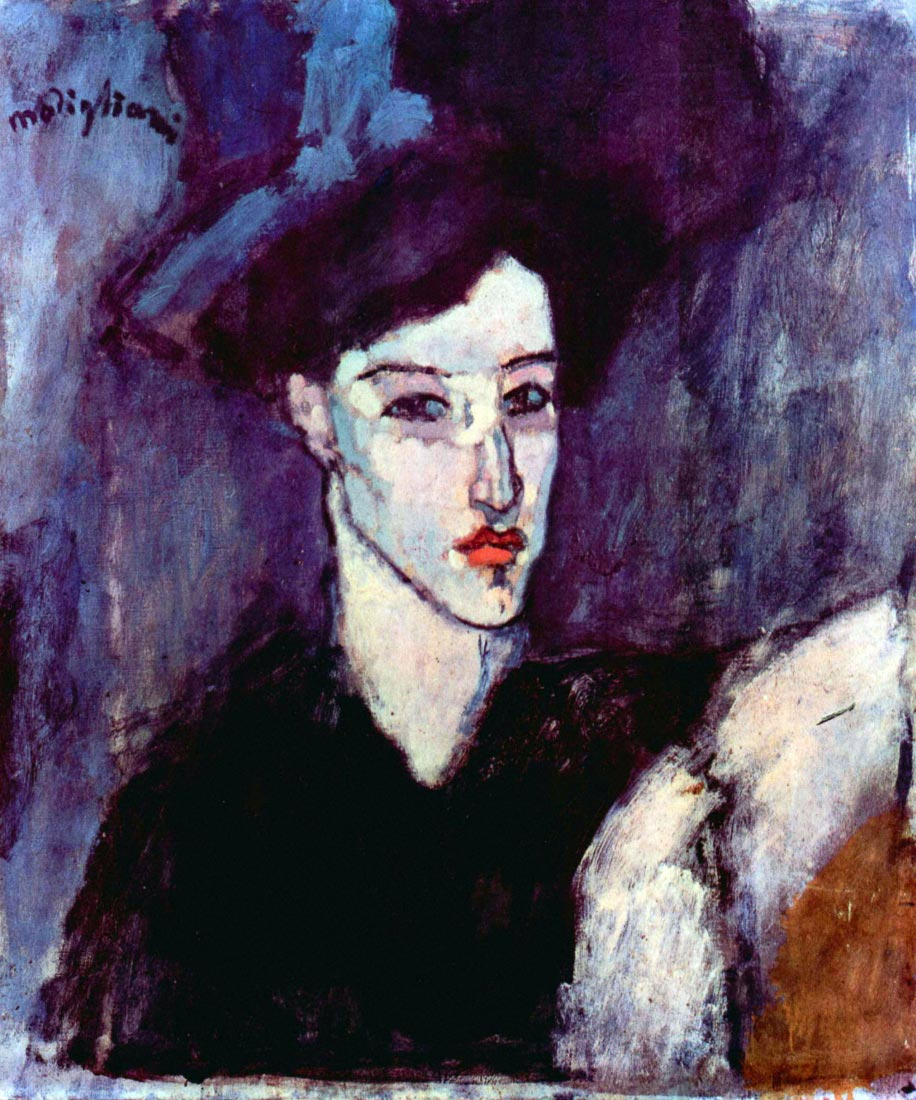 The Jewess - Modigliani