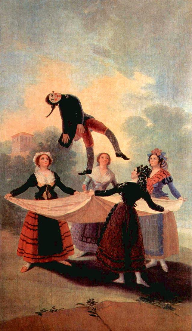 The Jumping Jack - Goya