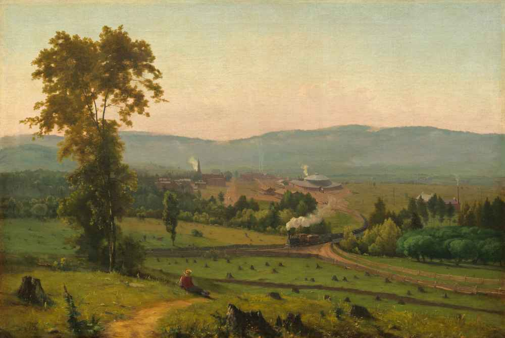 The Lackawanna Valley - George Inness