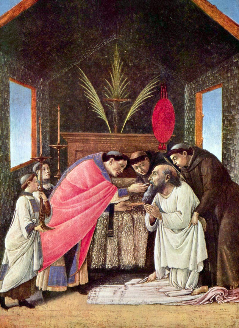 The Last Communion of St. Jerome - Botticelli