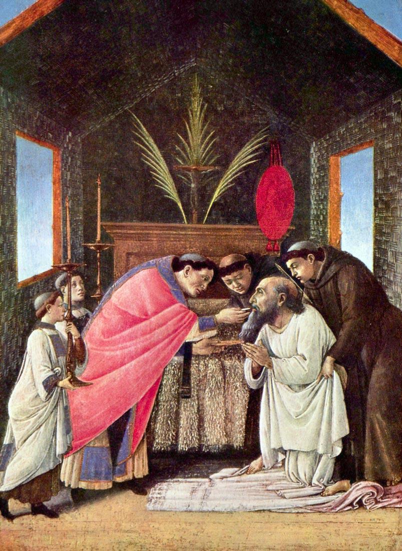 The Last Communion of St. Jerome - Botticelli