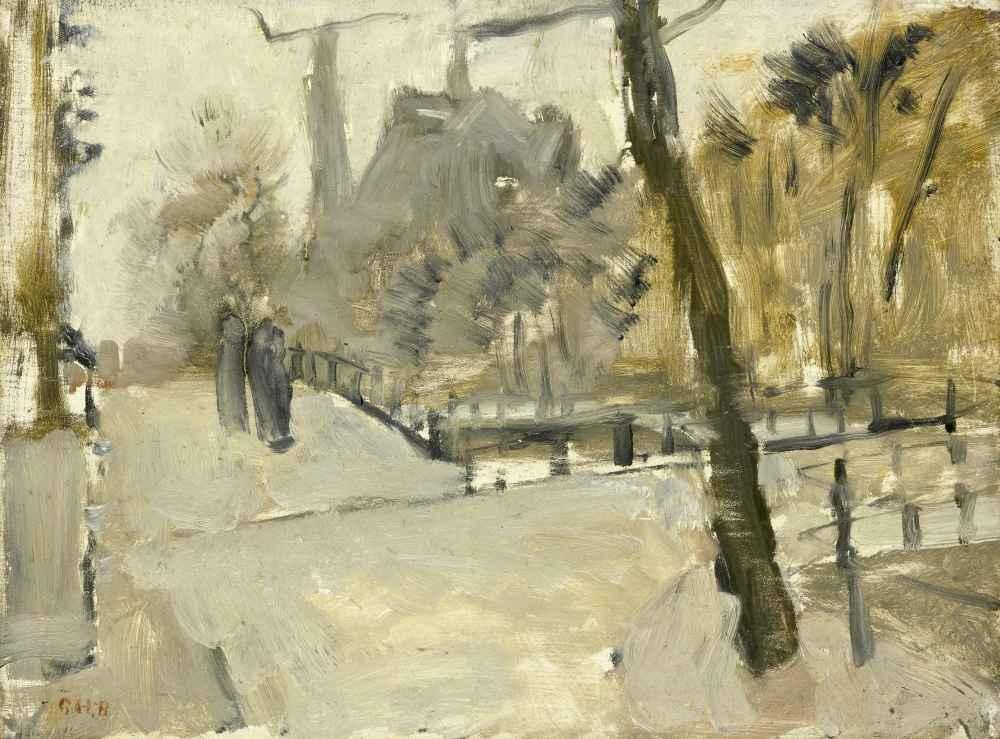 The Leidsegracht, Amsterdam - George Hendrik Breitner