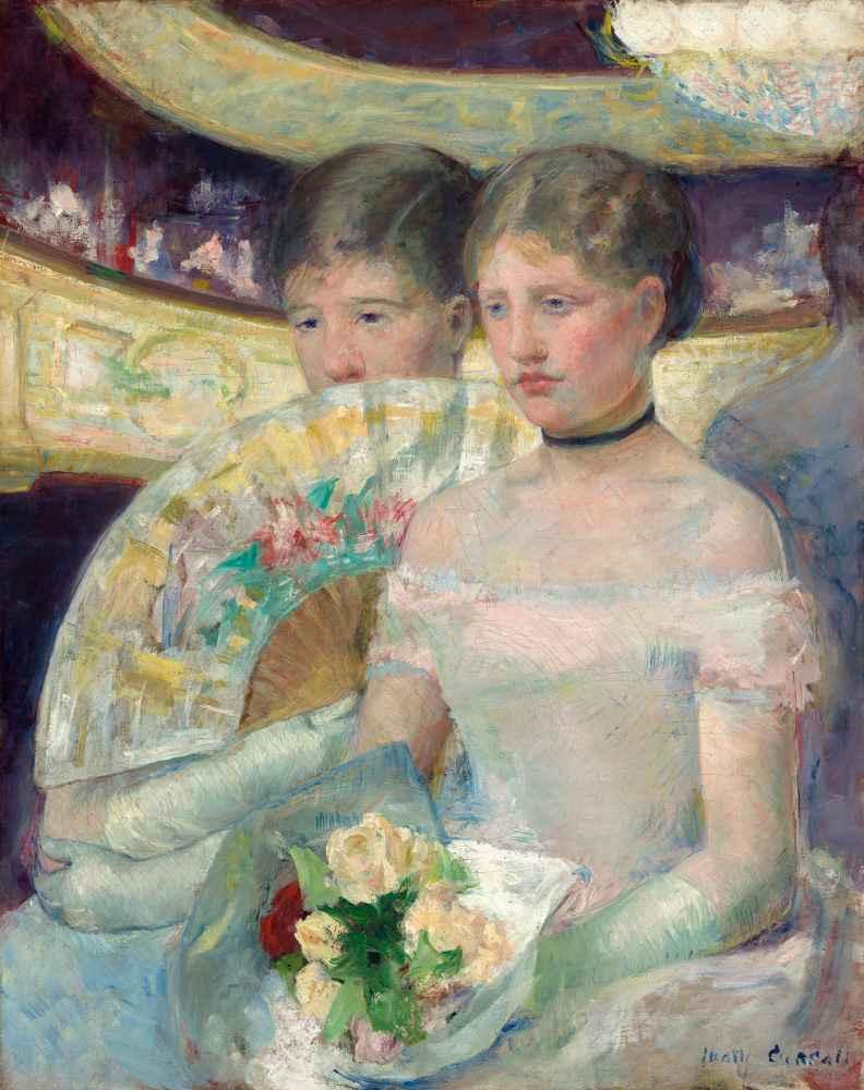 The Loge - Mary Cassatt