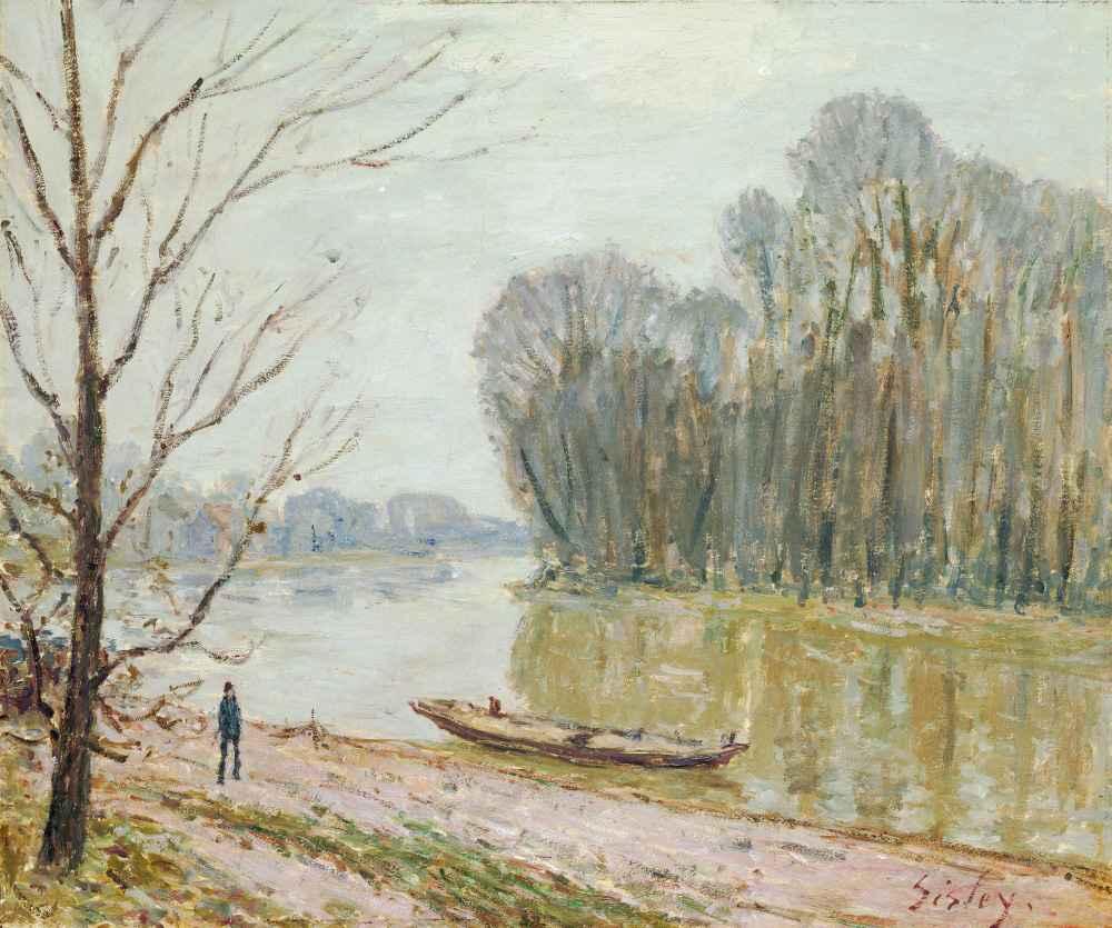 The Loire - Alfred Sisley