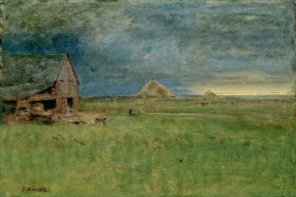 The Lonely Farm, Nantucket - George Inness