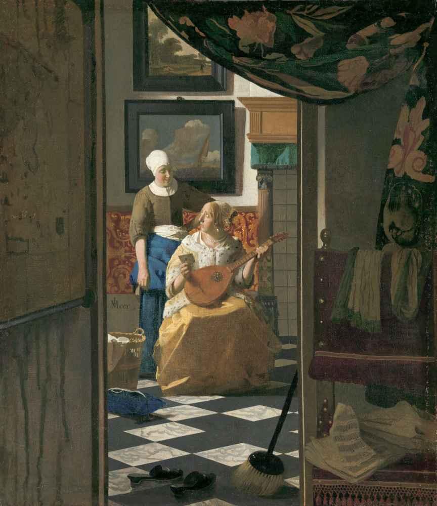 The Love Letter - Jan Vermeer