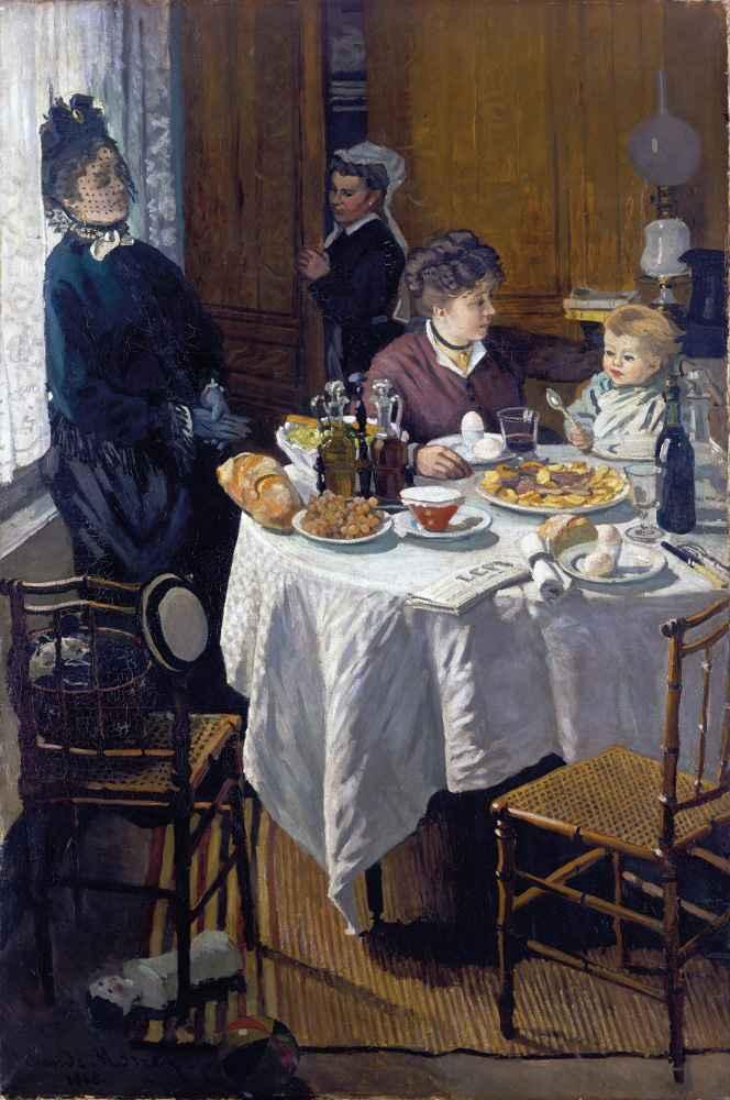 The Luncheon - Claude Monet