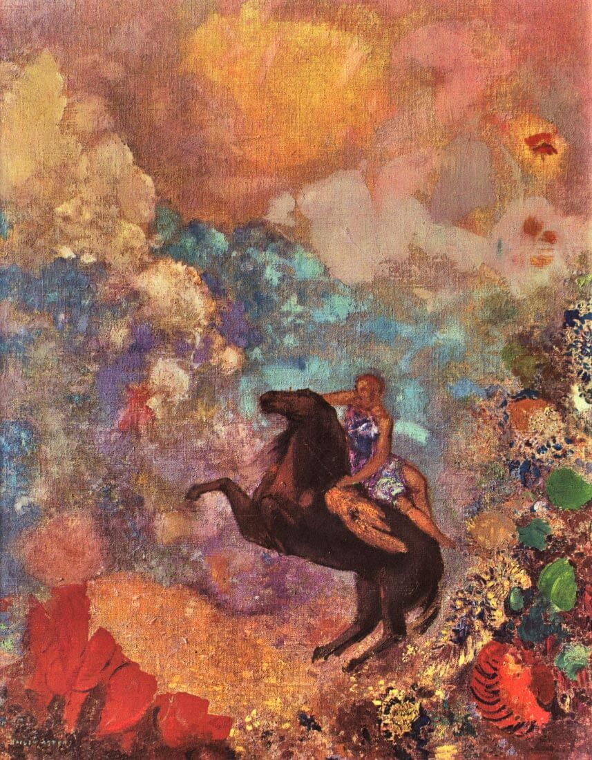 The MUSE on Pegasu - Odilon Redon