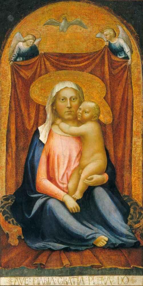 The Madonna of Humility - Masaccio