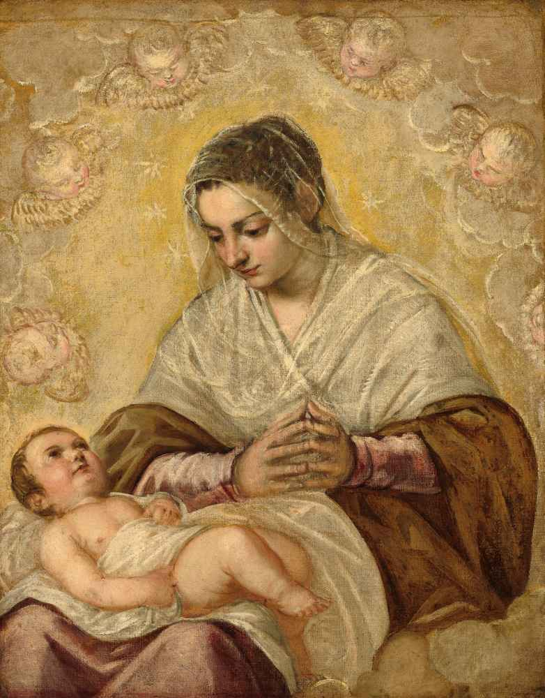 The Madonna of the Stars - Jacopo Tintoretto