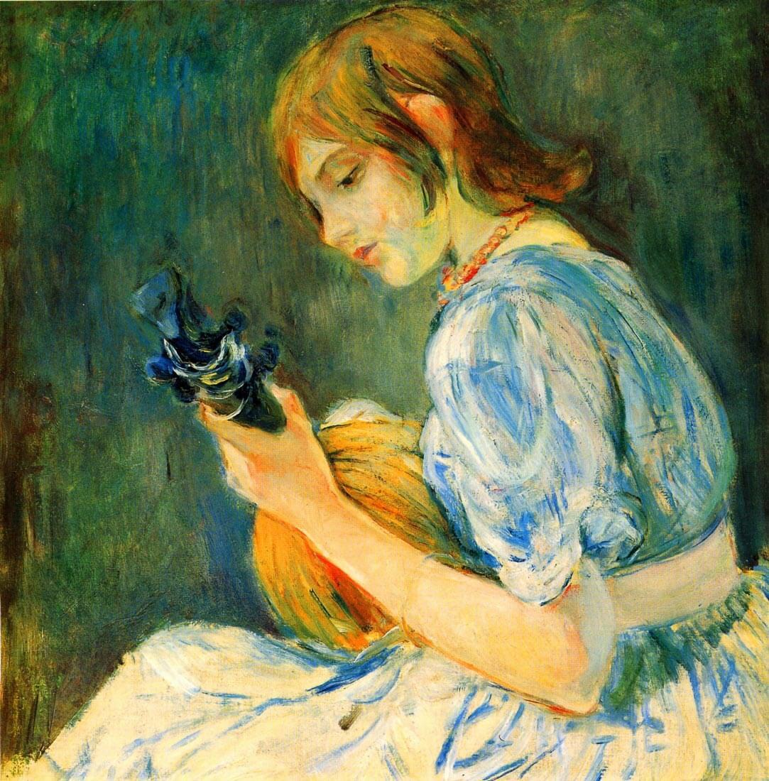 The Mandolin - Morisot