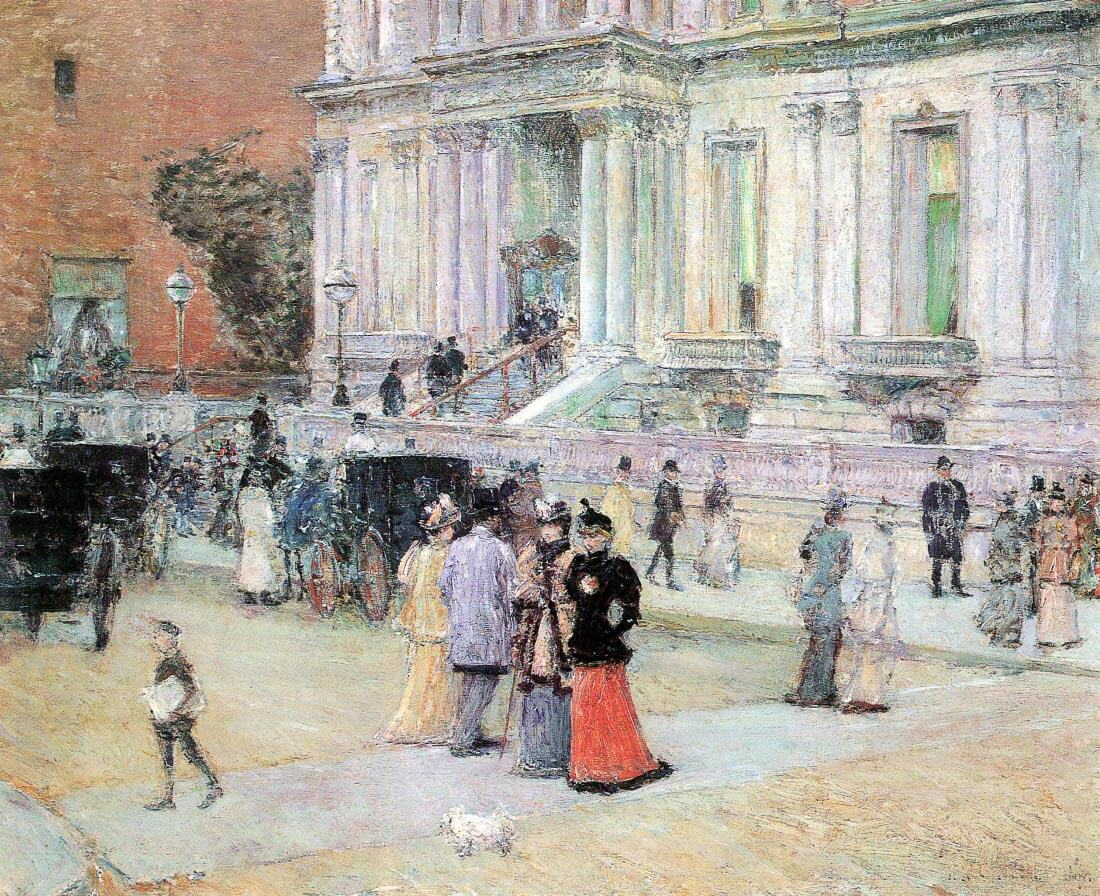 The Manhattan Club (The Villa of the Stewarts) - Hassam