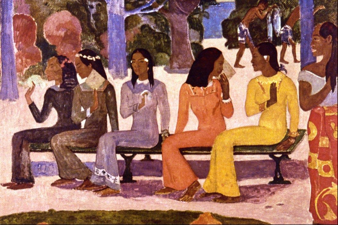 The Market - Gauguin