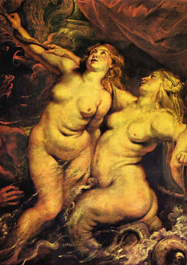 The Medicis Arriving in Marseille, detail - Rubens
