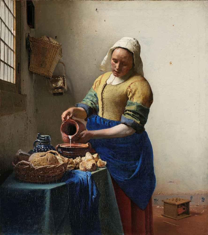 The Milkmaid - Jan Vermeer