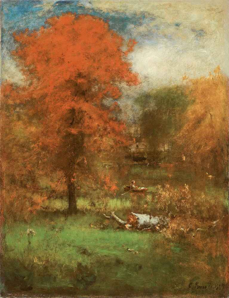 The Mill Pond - George Inness