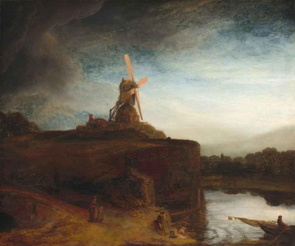 The Mill - Rembrandt Harmenszoon van Rijn