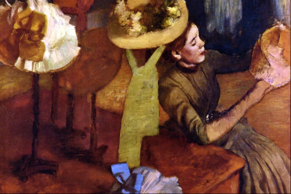 The Millinery Shop - Sisley