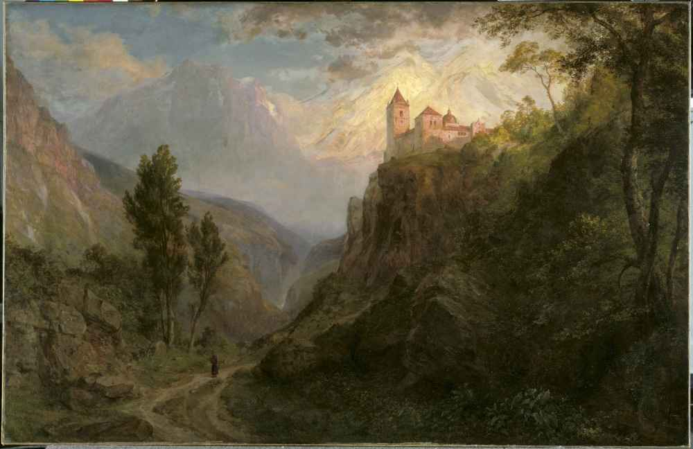 The Monastery of San Pedro (Our Lady of the Snows) - Frederic Edwin Ch