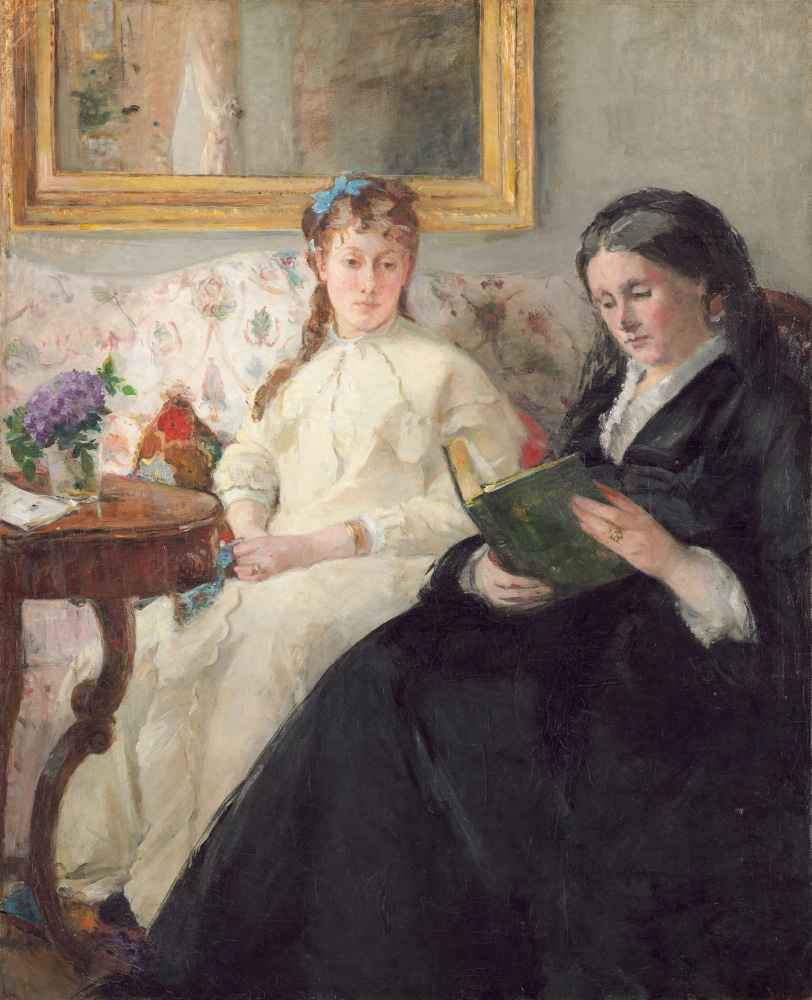 The Mother and Sister of the Artist - Berthe Morisot