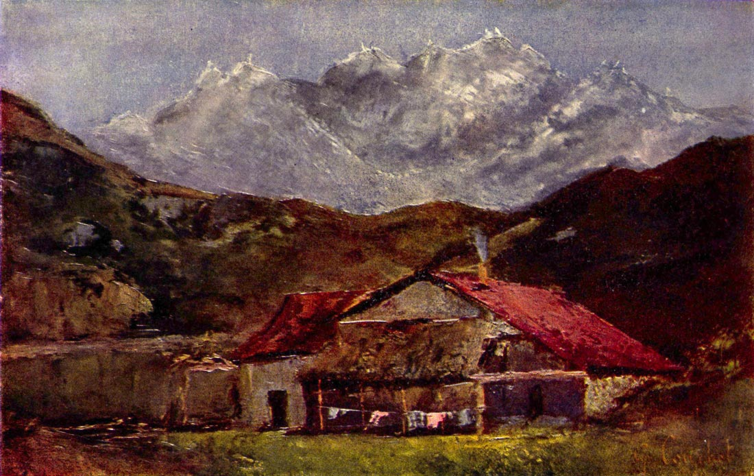 The Mountain Hut - Courbet
