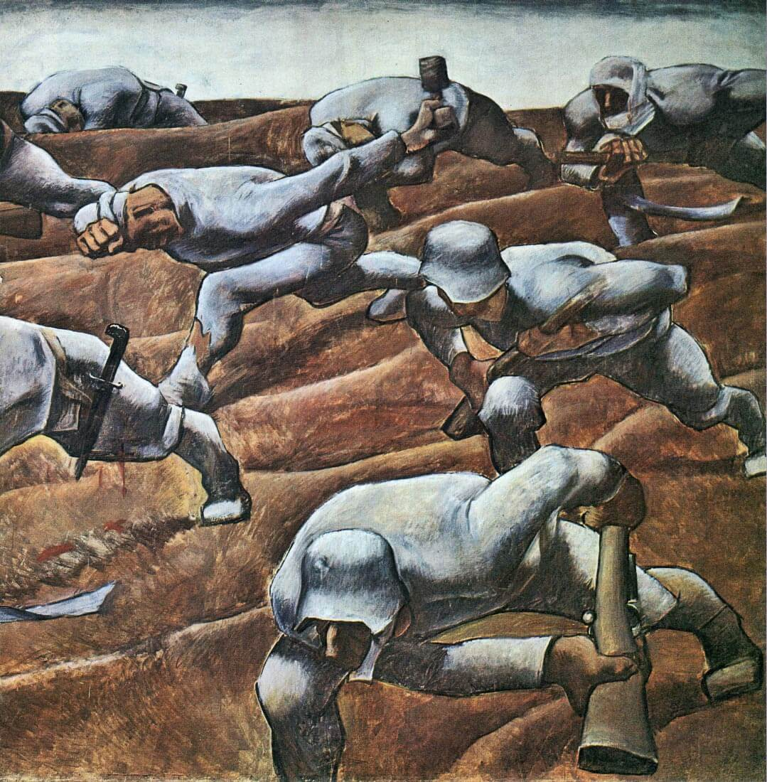 The Nameless 1915 - Albin Egger-Lienz