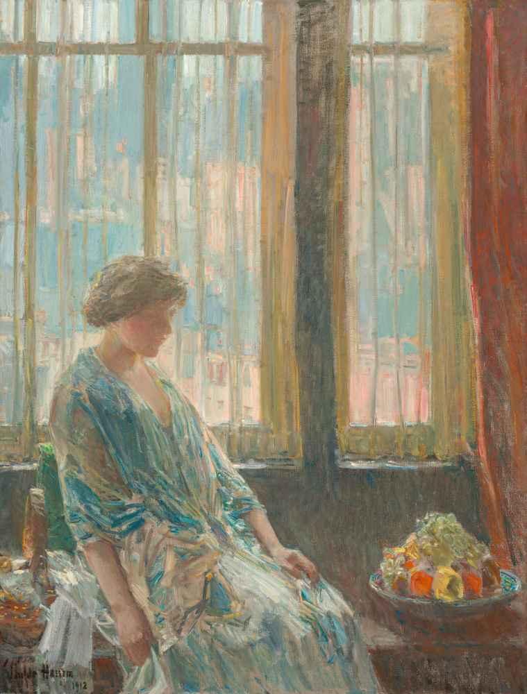 The New York Window - Childe Hassam