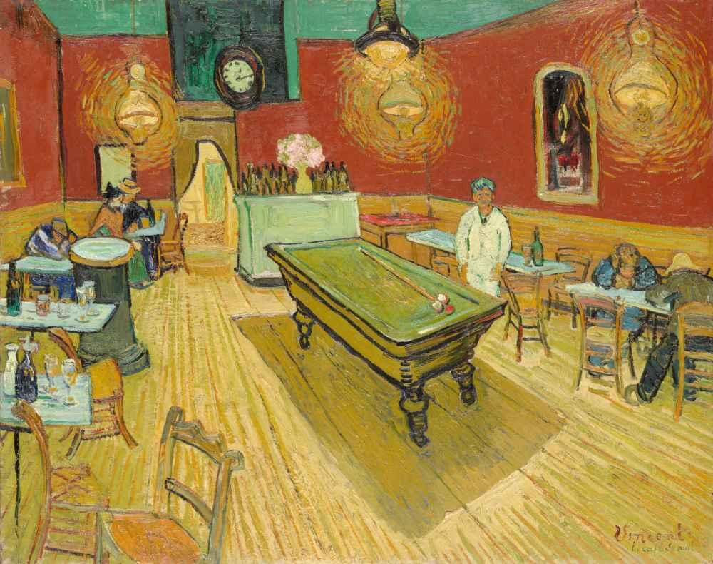The Night Café - Vincent van Gogh