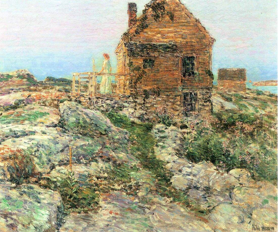 The Norwegian hut - Hassam