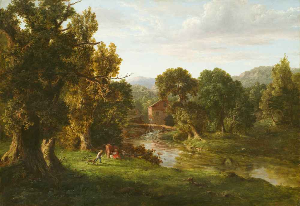The Old Mill - George Inness