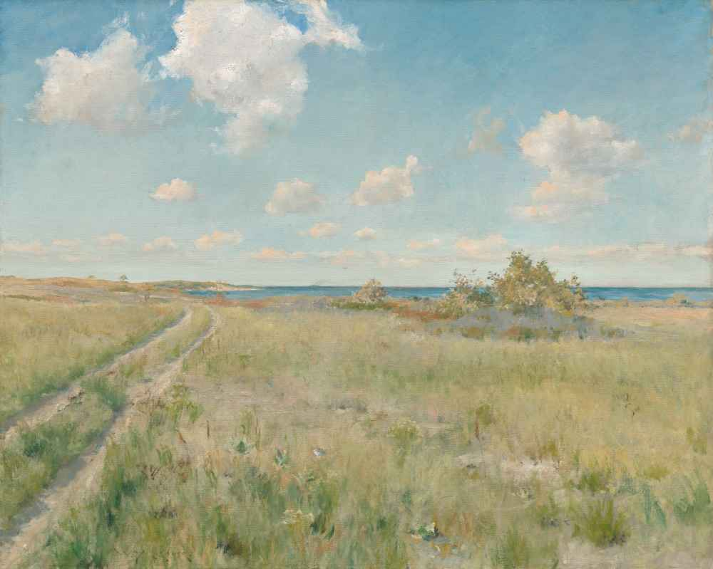 The Old Road to the Sea - William Merritt Chase
